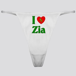 I (heart) Love Zia Classic Thong