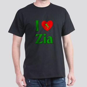 I (heart) Love Zia Dark T-Shirt