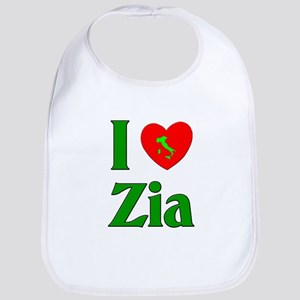 I (heart) Love Zia Bib