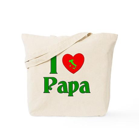 I (heart) Love Papa Tote Bag