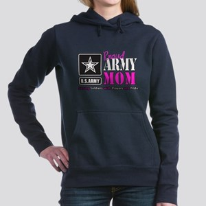 Proud Army Mom Pink Sweatshirt