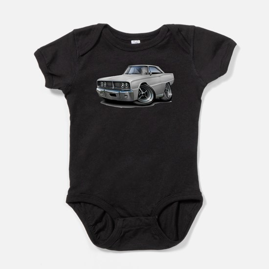 1966 Coronet White Car Infant Bodysuit Body Suit