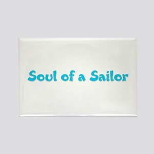 Soul of a Sailor Rectangle Magnet