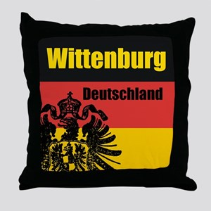 Wittenburg Deutschland  Throw Pillow