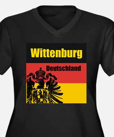 Wittenburg Deutschland  Women's Plus Size V-Neck D