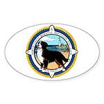 NCBMDCO LOGO Oval Sticker