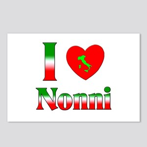 I Love (heart) Nonni Postcards (Package of 8)