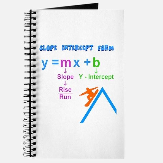Slope Intercept Form Journal