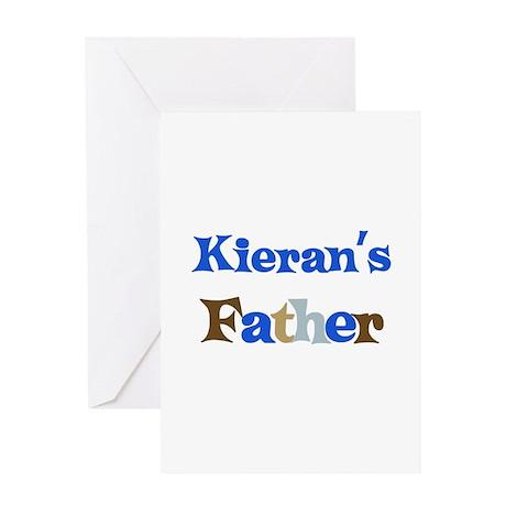 Kieran's Father Greeting Card