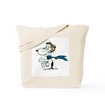 Crazy Dog Tote Bag