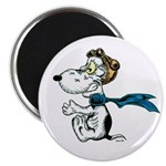 Crazy Dog Magnet