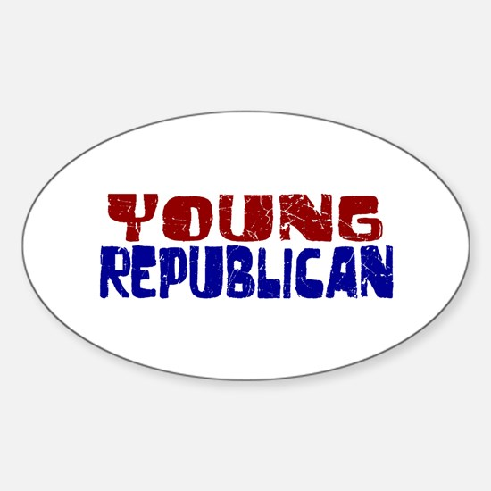 Young Republican Oval Decal