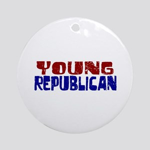 Young Republican Ornament (Round)