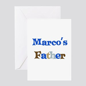 Marco's Father Greeting Card