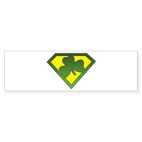 Super Shamrock Bumper Sticker