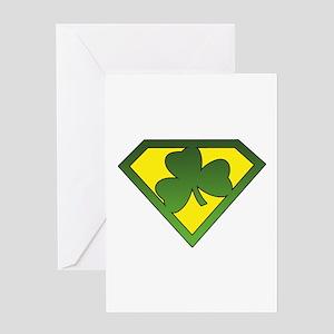 Super Shamrock Greeting Card