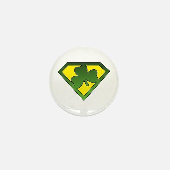 Super Shamrock Mini Button