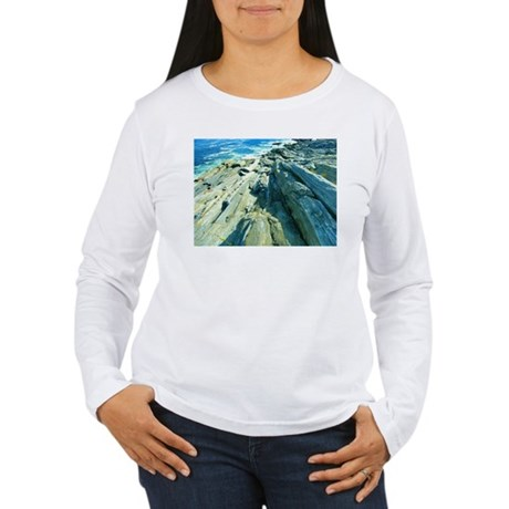 Pemaquid Point (no caption) Women's Long Sleeve T-