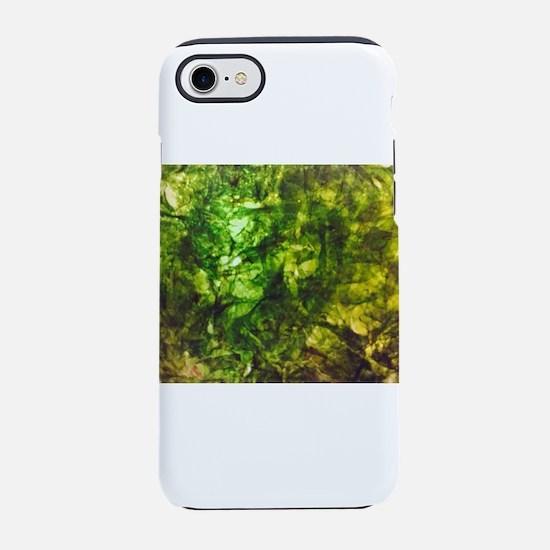 Green Textured 4Vincent iPhone 8/7 Tough Case