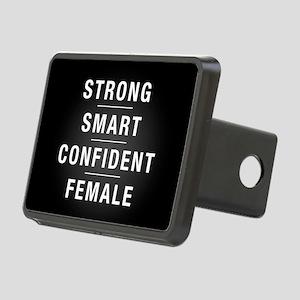 Strong Smart Confident Fem Rectangular Hitch Cover