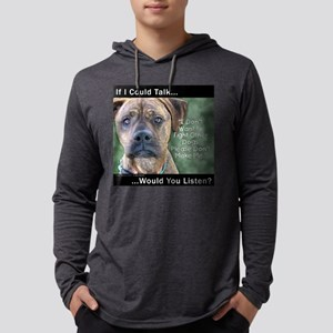 Stop Dog Fighting Long Sleeve T-Shirt