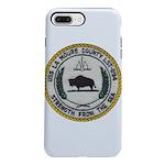 USS LA MOURE COUNTY iPhone 8/7 Plus Tough Case