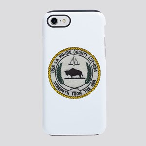 USS LA MOURE COUNTY iPhone 8/7 Tough Case