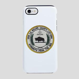 USS LA MOURE COUNTY iPhone 8/7 Tough Case