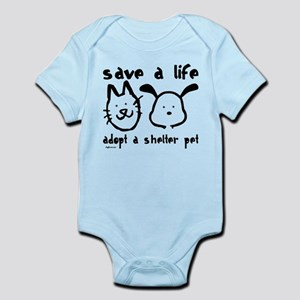 Save a Life - Adopt a Shelter Pet Infant Bodysuit