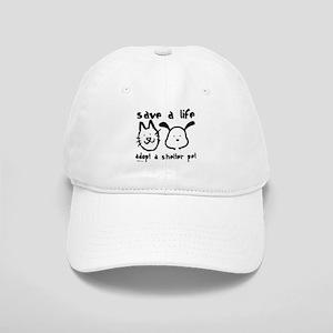 Save a Life - Adopt a Shelter Pet Cap