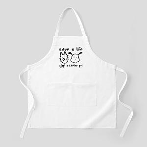 Save a Life - Adopt a Shelter Pet BBQ Apron