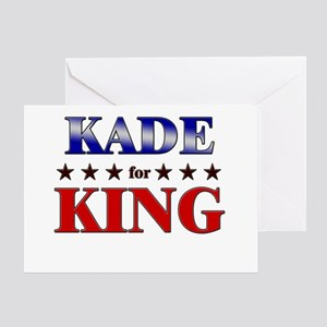 KADE for king Greeting Card