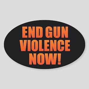 End Gun Violence Sticker