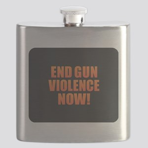 End Gun Violence Flask