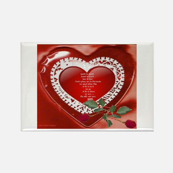 Unique Love poems Rectangle Magnet