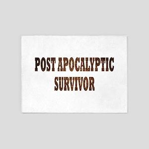 Post Apocalyptic Survivor 5'x7'Area Rug
