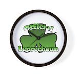 Official Leprechaun Wall Clock