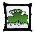 Official Leprechaun Throw Pillow