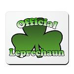 Official Leprechaun Mousepad