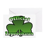 Official Leprechaun Greeting Card