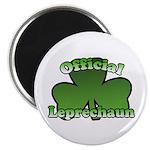 Official Leprechaun Magnet