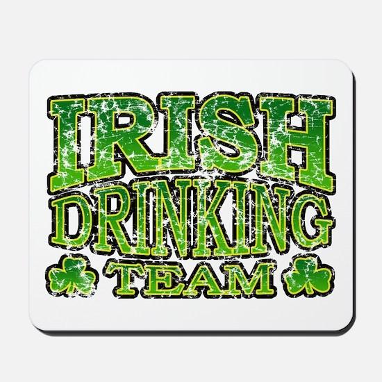 Irish Drinking Team Retro Mousepad
