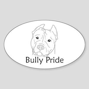 Bully Pride Oval Sticker