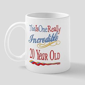 Incredible At 20 Mug