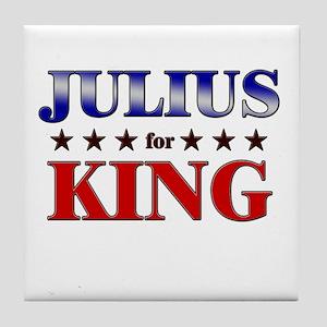 JULIUS for king Tile Coaster