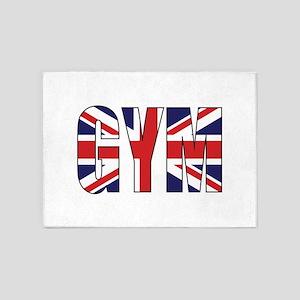 GYM UK 5'x7'Area Rug