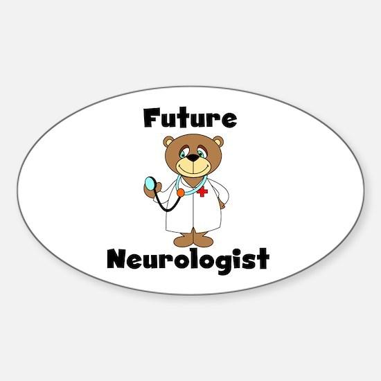 Future Neurologist Oval Decal
