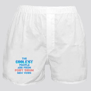 Coolest: Fort Drum, NY Boxer Shorts