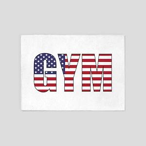 GYM USA 5'x7'Area Rug