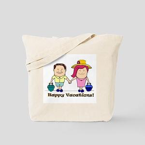 Happy Vacations! Tote Bag